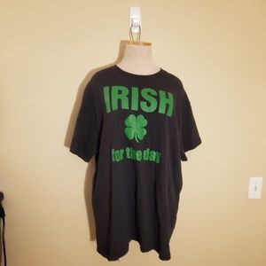 Tops - Irish for the day st Patrick's tshirt tee XL